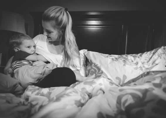 Lauren Breastfeeding